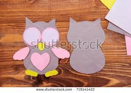 Cut Out Details Owl Toy Scissors Fabric Crafts For Kids Step By