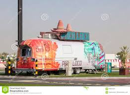 Poco Loco - A Mexican Food Truck In Dubai Editorial Stock Image ...