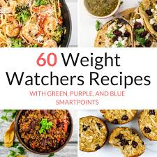 60 weight watchers recipes with new myww points slender
