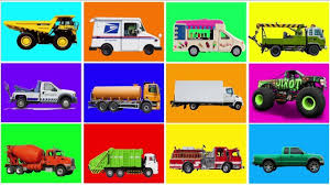 100 Who Makes Mail Trucks Learn Name Sound For Kids Fire Truck Dump Truck