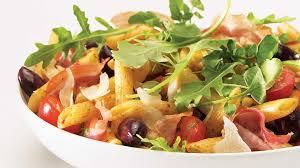 penne à l italienne et sa garniture de verdures recettes iga