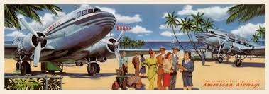 Fly With Us Pan Am American Airways Fine Art Cotton CanvasGicleesOversizePrints