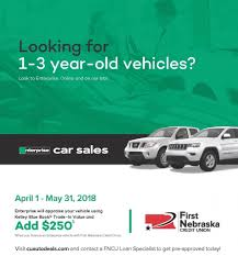 Enterprise Promotion - First Nebraska Credit Union Kelley Blue Book Used Truck Prices Names 2018 Download Pdf Car Guide Latest News Free Download Consumer Edition Book January March Value For Trucks New Models 2019 20 Ford Attractive Kbb Cars And Kbb Price Advisor Bill Luke Tempe Ram Trade In 1920 Reviews Canada An Easier Way To Check Out A
