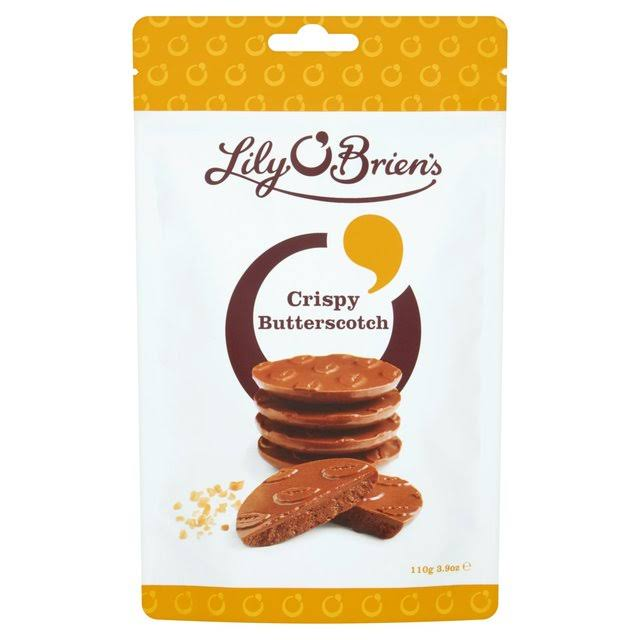 Lily O' Brien's Crispy Butterscotch