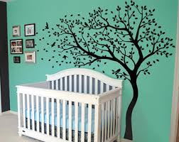 Tree Wall Decor With Pictures by Tree Wall Decal Huge Tree Wall Decals Nursery Wall Decor Large