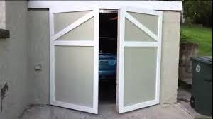 Swinging Garage Door