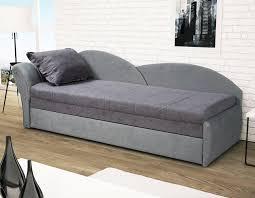 coffre canapé canapé lit gris pas cher avec rangement pour oreillers