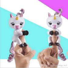 Fingerlings Gigi Unicorn Monkey Toys Fingerling Smart Touch Fingers Interactive Baby Finger Toy As Wedding Party Gifts Fun Christmas