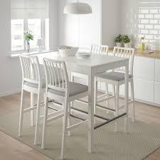 ekedalen bartisch weiß 120x80x105 cm