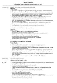 Download Software Configuration Manager Resume Sample As Image File