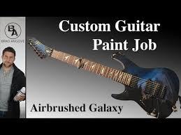 Awesome Custom Guitar Paint Job