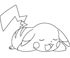 Pikachu Coloring Pages 10