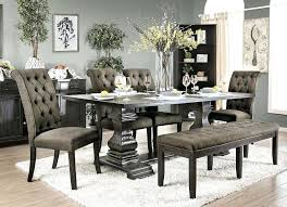 Formal Dining Room Table Set Runner Home Design Traditional With Grey Chairs Magnificent