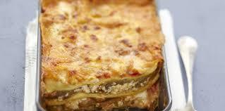 jeux de cuisine lasagne lasagnes chèvre et aubergines facile recette sur cuisine actuelle