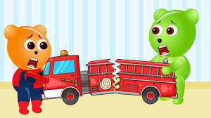 Mega Gummy Bear Spiderbaby Crashed Toy Fire Truck Finger FAmily ... Animal Sounds Song Fire Truck Go To Rescue Toys For Kids B177m Engine Song For Kids Truck Videos Children Youtube Cartoon Maddy Calls The To Rescue Teppy Finger Hurry Drive The Storytime Monster Compilation Trucks Time Fight A William Watermore Real City Heroes Rch Ambulance Video And Vehicles Emergency Picture Car Wash Baby Video Learn Vehicles Loader Cars Videos Police Chase Fire