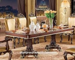 Tyx605-1- Luxury Dining Table Set With Chair Gold Colour Design For Dining  Room Furniture - Buy Dining Room Furniture,Dining Table Set,Dining Table ...
