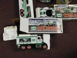 100 Hess Toy Truck Values Lot Of 7 NEW HESS S In Boxes Boxes Have Water Damage Or