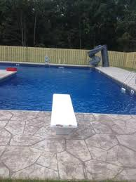 Image Add A Diving Board And Slide To Complete Your Outdoor Swimming Pool