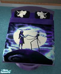 maili s nightmare before christmas bed