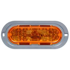 60 Series, LED, Yellow Oval, 26 Diode, Auxiliary Turn Signal, Gray ... Trucklite 60 Series Grommet Amazoncom 602r Stopturntail Lamp Automotive 060r Red Oval Retrofitstop Light Kit 26 Led 27450c Headlamp Truck Lite Model Offers 6inch Combination Headlights Lights 2x6 In Work 6 Diode 450 Lumen 12v Pedestal Indicator 2752 New Truck Lite Model Oval Reverse Light Clear 04 Dot 60074y Yellow Frontparkturn