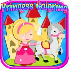 Cheap Free Princess Coloring Book Find