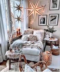 weihnachtssterne zimmer einrichten jugendzimmer wohnen