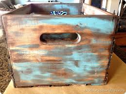 How to antique wood with paint and stain}