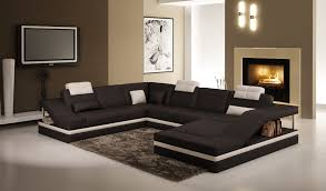 canap noir et blanc deco in canape d angle design noir et blanc atilde angle