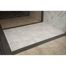 pietra calacatta 12 in x 24 in glazed polished porcelain floor