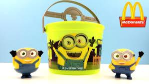Mcdonalds Halloween Buckets by Minion Bob 2015 Mcdonald U0027s Minions Halloween Buckets Pails Toy 4