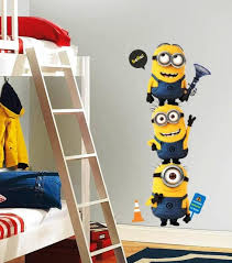 10 Fun Cartoon Character Kids Bedroom Wall Decoration