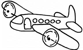 Amazing Airplane Coloring Page 48