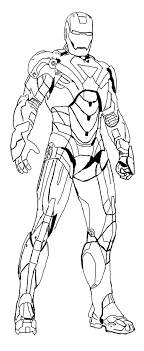 Free Iron Man Colouring Pictures To Print For Kids Superheroes