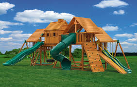 Multi-Deck Imagination Wooden Playsets | Eastern Jungle Gym Backyard Discovery Dayton All Cedar Playset65014com The Home Depot Woodridge Ii Playset6815com Big Cedarbrook Wood Gym Set Toysrus Swing Traditional Kids Playset 5 Playground And Shenandoah Playset65413com Grand Towers Allcedar Playsets Amazoncom Kings Peak Monterey Playset6012com Wooden Skyfort