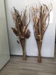 deko wohnzimmer busch herbst winter