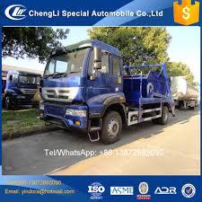 100 Truck Loader 10 Sinotruk 42 Ton 12 Ton 14 Ton Outdoor Big Metal Waste Bin Skip
