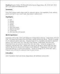 Sushi Chef Resume Template Best Design Tips