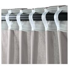 Gray Ruffle Blackout Curtains by Light Gray Ruffle Shower Curtain Gypsy Ruffled Curtain Panel Grey