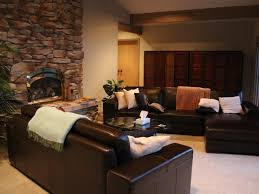 living room designs cozy living room with black sofa accent