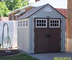Suncast Alpine Shed Accessories by Suncast Alpine 7 Ft 2 In X 7 Ft 6 In Resin Storage Shed