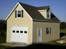 Wood Garage Home & Garden