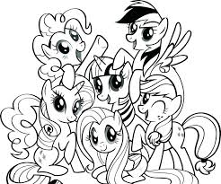 Princess Twilight Sparkle Coloring Page My Little Pony