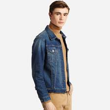 men denim jacket uniqlo us