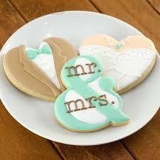 187 best Wedding Cookies images on Pinterest