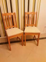 4 stühle holzstühle für esszimmer oder mit sitzkissen