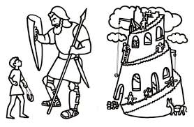 David Bible Coloring Pages