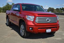 100 Toyota Truck Reviews 2016 Tundra 4X4 Platinum Crewmax Review Car And