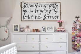 Pink Flower Dresser Knobs by Hello Baby Brown Sloan U0027s Room Tour