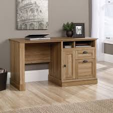 Sauder Shoal Creek Desk by Reliable Small Oak Desk With Drawers Htpcworks Awe Intended For