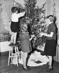 Types Of Christmas Trees With Sparse Branches by Wishing You A Very Retro Christmas Real Candles In The 1900s A